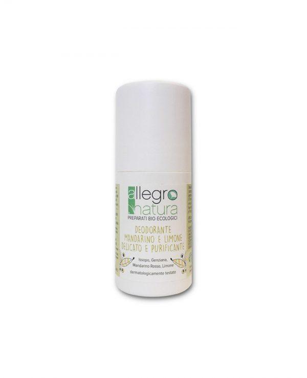 La Gatta Diva Allegro Natura cosmesi sostenibile bio green vegan deodorante delicato e purificante mandarino e limone