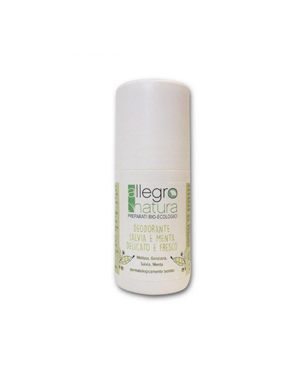 La Gatta Diva Allegro Natura cosmesi sostenibile bio green vegan deodorante delicato e fresco salvia e menta