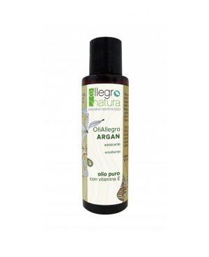 La Gatta Diva Allegro Natura cosmesi sostenibile bio green vegan olio puro di argan con vitamina E addolcente ed emolliente