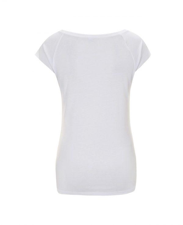 La Gatta Diva moe moe t-shirt manica corta Colibri sostenibile vegan Cotone organico bamboo green