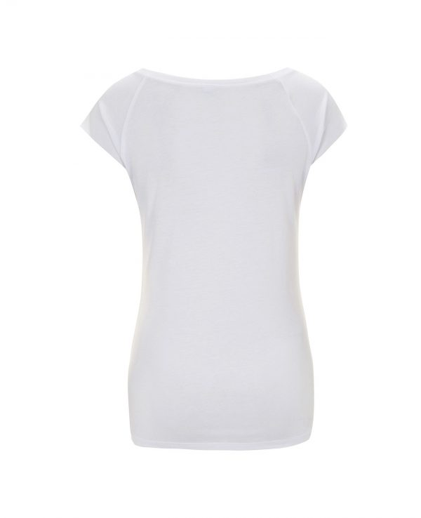 La Gatta Diva moe moe t-shirt manica corta Flamingo sostenibile vegan Cotone organico bamboo green