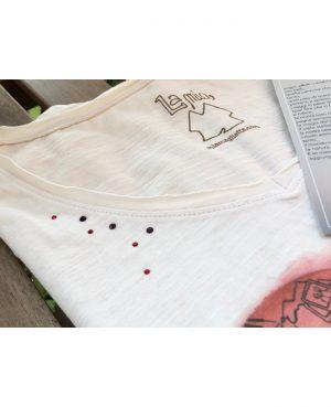 La gatta diva la mia maglietta cosa ce dentro il cuore vegan green ecosostenibile cotone organico bio