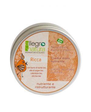 La Gatta Diva Allegro Natura cosmesi sostenibile bio green vegan crema mani nutriente e ristrutturante ricca
