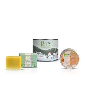 La Gatta Diva Allegro Natura cosmesi sostenibile bio green vegan cofanetto small