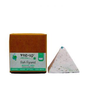vegup piramide effervescente balneoterapia meditazione verde cosmetici ecosostenibili
