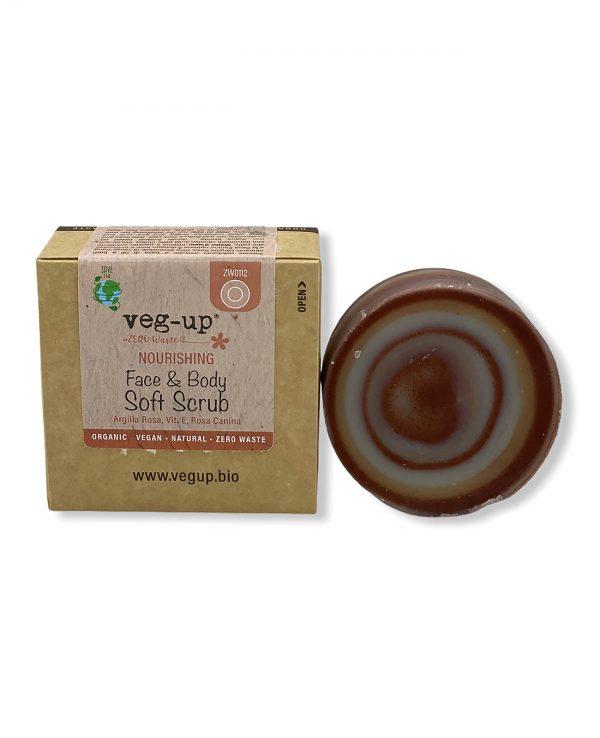 cosmetici vegup soft scrub viso corpo nourishing